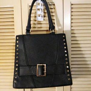Handbags - BLK vegan  leather purse